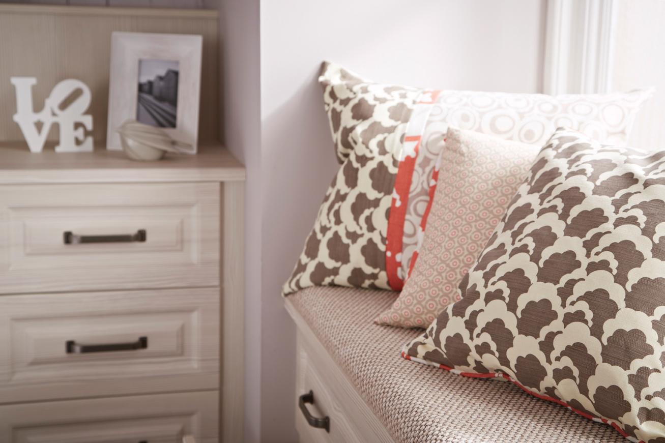 Bosworth White Avola Bedroom finish