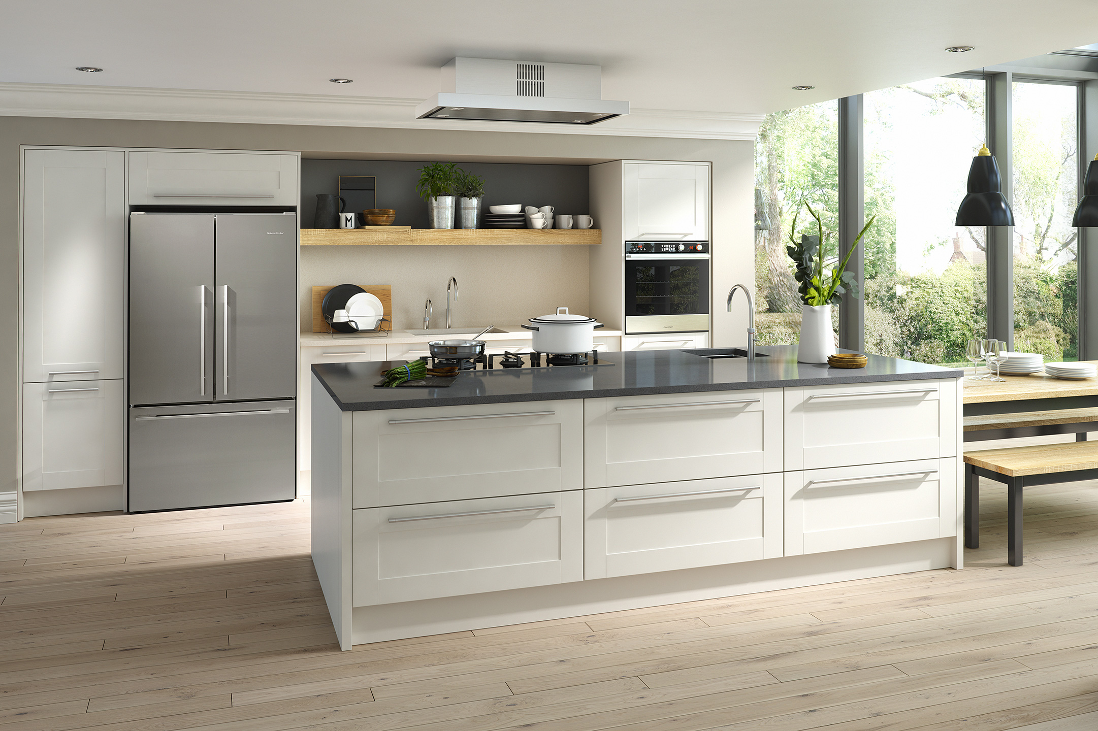 Broadstyle Ivory modern kitchen sussex