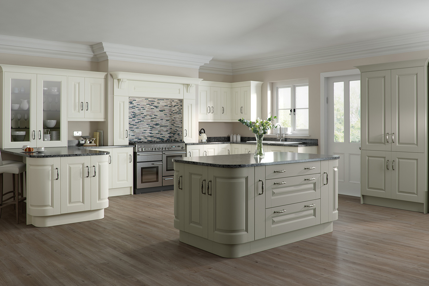 Character Ivory Light Grey Kitchen