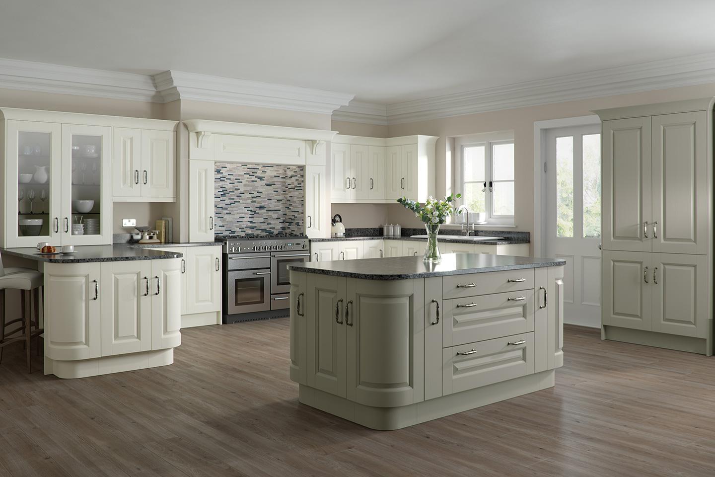Character Ivory Light Grey Kitchen