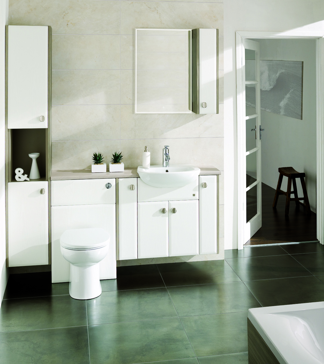 Calypso Fitted Bathroom Furniture