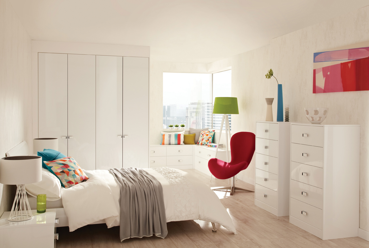 Lustro frost bedroom modern white