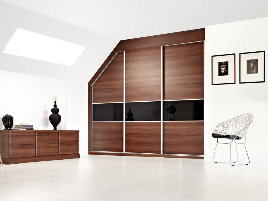 Panel Elegance Sliding Wardrobe Bedroom
