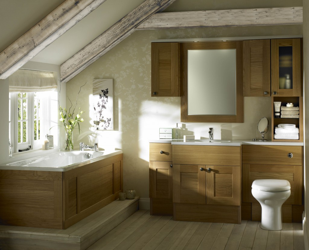 Sargasso Light Oak Bathroom Sussex