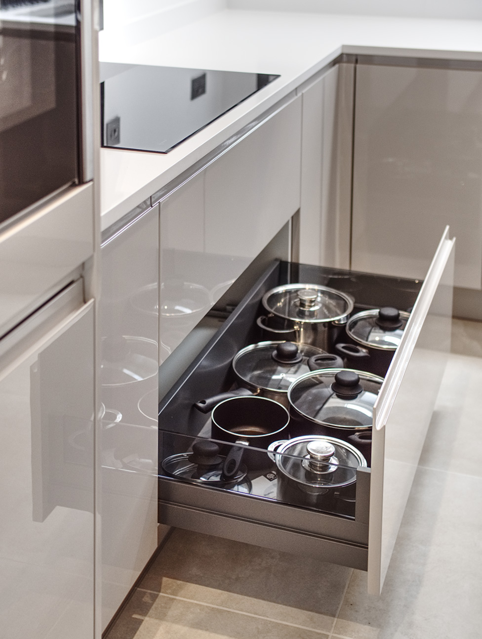 kitchen storage sheraton modern installation